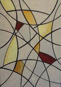 """Inner Circle""          Acryl     50 x 70 cm"