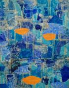 """""""Le Livre""""          Acryl     100 x 80 cm"""