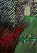 """""""Garten Eden""""          Acryl     100 x 70 cm"""
