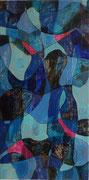 """""""Mimikry""""          Acryl     60 x 30 cm"""