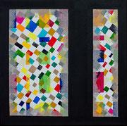 """""""Am Fenster""""          Acryl      40 x 40 cm"""