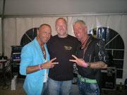 Carlos, DJ Haas, Haraldino beim CSD 2012