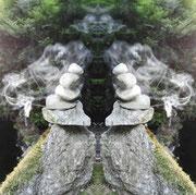 Spiegelung Rauch-Geist der mittleren Welt
