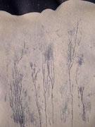 50 x 35, 2004, Kreideschlamm von Rügen