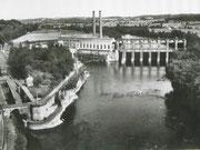 Le barrage de Tuilieres (l'alimentation de la station)