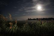 Mondlandschaft bei Burg Klempenow