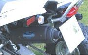 Triton Baja 300 mit Hitzeschild / Burelli Daytona B3