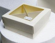 scatolina con divisori 10X10H4 €1,50