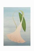 Datura géant (Acrylique sur toile - 118 x 89 )