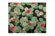 Viburnum Lantana (Acrylique sur toile - 54 x 64 )