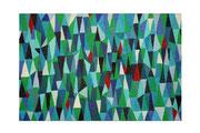Ciel et mer (Acrylique sur toile - 60 x 90)
