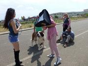 set con i cani XPhotographer Fujifilm