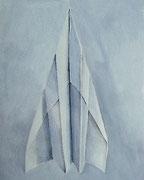 Abflug, Aquarell, 50 x 40 cm