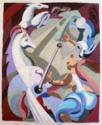 Circus 1, Acryl auf Vlies, 160 x 120 cm