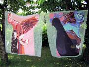 butterfly 1, Acryl auf Vlies, 160 x 210 xm