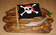 Kindergarderobe - Pirat