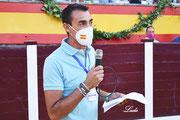 Emilio Trigo, Jefe de Prensa de la AAET 'Pedro Romero'