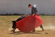 Cayetano Ortiz remata con torería por el izquierdo