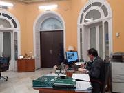 Secretario General de Interior y Espectáculos Públicos, Miguel Briones.