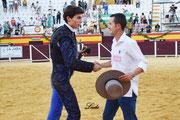Diego Bastos y el Mayoral de Toros de El Torero