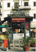 Schöner Kiosk mitten in der Altstadt