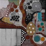 Zygot's Blues    2008        50 cm x 50 cm