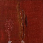 Ocre Rouge 1    70 cm x 70 cm