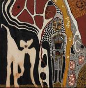 Le bouffon du Bois-des-Sarrazins      39 cm x 38 cm