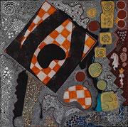 Partie d'Echec  2008      50 cm x 50 cm