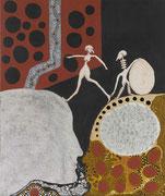 Incubation d'un Neuf et Matière Grise  2006      50 cm x 60 cm