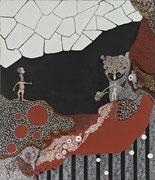La Balade du Poisson Chien  2006        60 cm x70 cm
