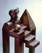 Agnosie                Material  Bronze                               Höhe 140 cm