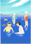 函館の海水浴・2012