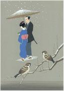 藤沢周平「雪明かり」から・2011