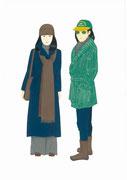 昭和50年のファッション。2013