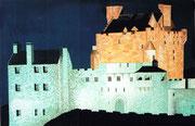 Eilean Donan Castle nachts, 90x60