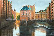 Speicherstadt Hamburg, 60x40