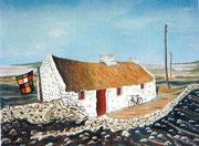 Häuschen in Irland, 40x30