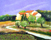 In der Provence, 40x30 (Privatbesitz)