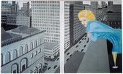 Blick auf Manhattan, 80x50
