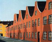 Holländisches Viertel in Potsdam, 60x50