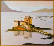Eilean Donan Castle in Schottland, 60x50 (Privatbesitz)