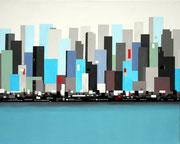 Wolkenkratzer, 100x80 (2014)
