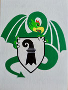Bild Nr.38: Basilisk als Signet 1972