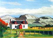 Haus in Schottland, 24x19