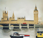House of Parliament in London, 50x45 (Privatbesitz)