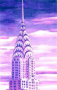 Chrysler-Building, 16x22