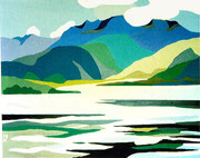 Der Ben Nevis in Schottland, 40x30 (Privatbesitz)