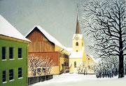 Strasse in Kesswil am Bodensee, 70x50 (Privatbesitz)