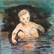 Svea, 2013, Acryl auf Leinwand, 30 x 30